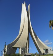 image of maqam echahid in algiers in algeria