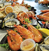 image of seafood dishes in perth in australia