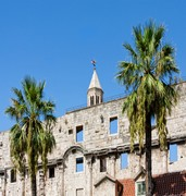 image of diocletian palace in split in croatia