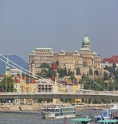image of the royal palace in budapest in hungary
