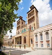 image of golestan palace in tehran in iran