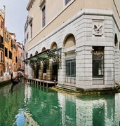 image of la fenice theater in venice in italy