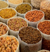 image of variety of raw nuts n islamabad in pakistan