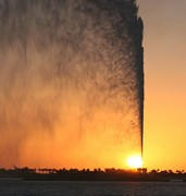 image of jeddah fountain in saudi arabia
