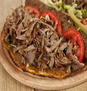 image of meat shawarma dish in jeddah in saudi arabia