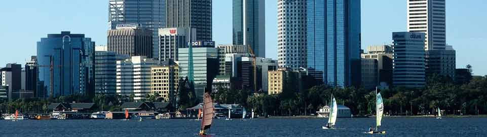 image of perth cityscape in australia