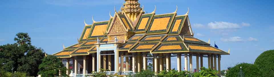 image of chanchhaya pavilion in phnom penh in cambodia