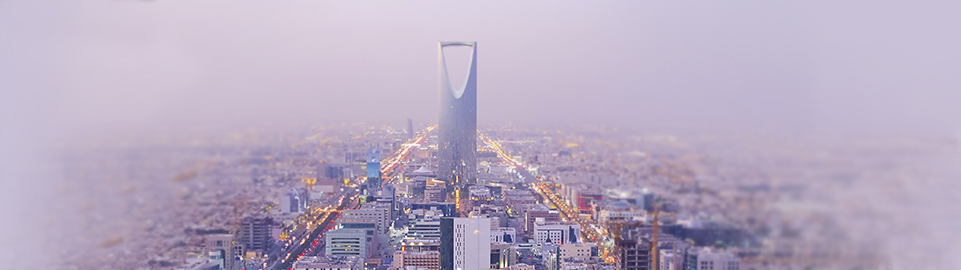 image of aerial view of riyadh in saudi arabia