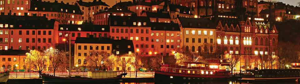 image of the harbour of skeppsbron in stockholm in sweden