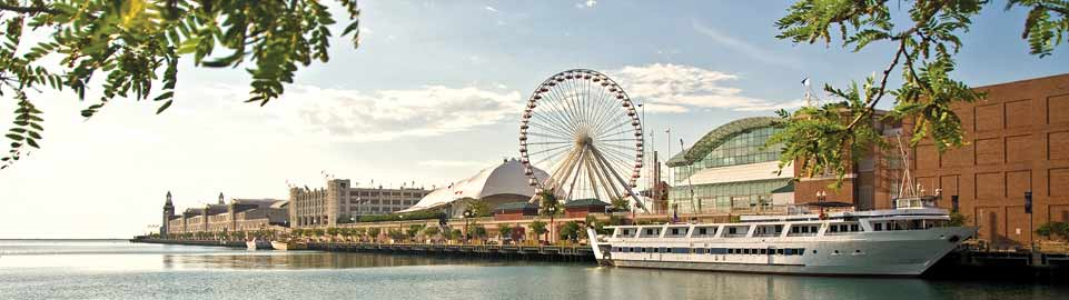 image of navy pier in chicago in usa