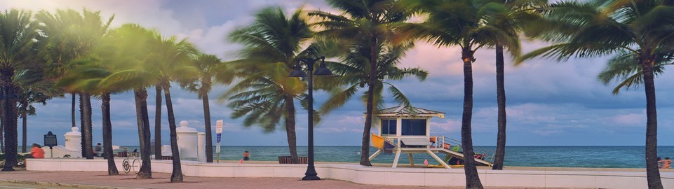 image of fort lauderdale beach in usa