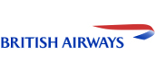 The British Airways logo.