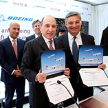 BOEING, QATAR AIRWAYS ANNOUNCE ORDER FOR 30 787-9 DREAMLINERS, 10 777-300ERs