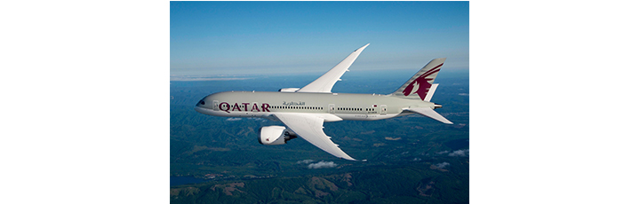 Qatar Airways will operate the Boeing 787 Dreamiliner to Geneva