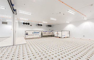 The Climate Control Centre, a new transit facility for temperature-controlled shipments at the Doha hub