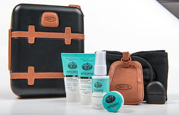 First Class amenity kits for men
