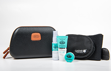 Business Class amenity kits for men