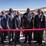 QATAR AIRWAYS' FIRST FLIGHT TO NAMIBIA TOUCHES DOWN IN WINDHOEK