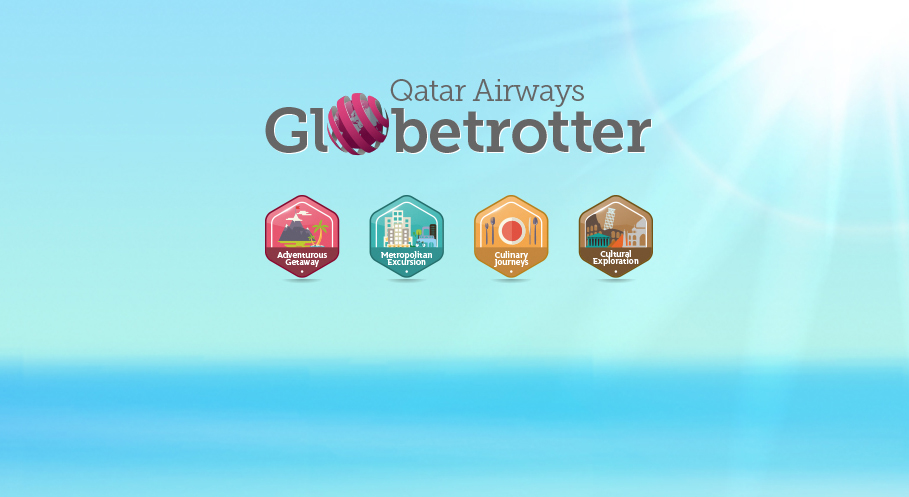 The Qatar Airways Globetrotter