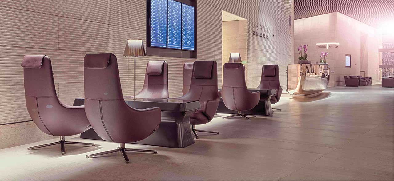 Image of Qatar Airways Al Safwa First Class Lounge
