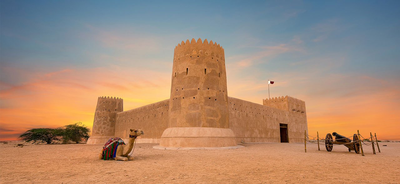 Image of Al Zubarah Fort in Qatar