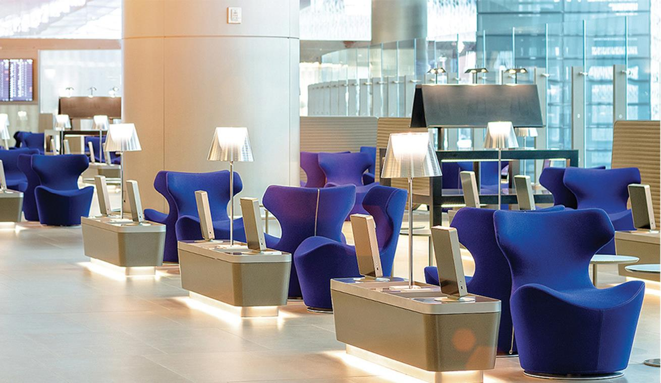 Image of Qatar Airways Al Mourjan Business Class Lounge