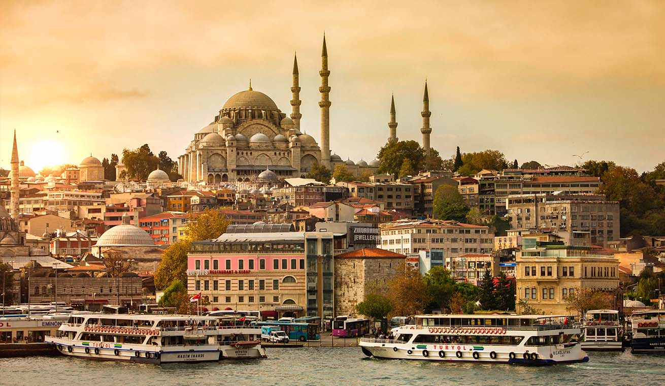 Image of Sultanahmet Imperial Mosque in Istanbul, Turkey