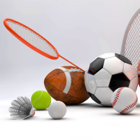 Image of different sports gear
